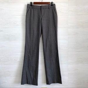 Banana Republic Martin Fit Gray Flat Front Trouser